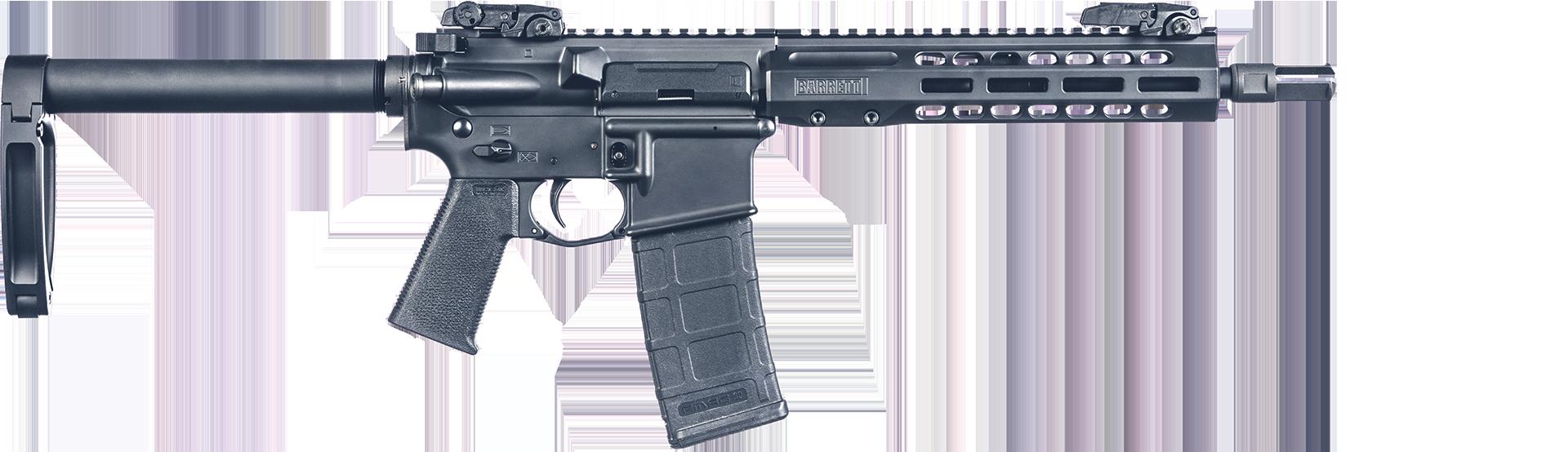 "pistol"" Barrel Configuration Image"